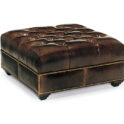 Hancock and Moore Campaign Cocktail Ottoman
