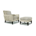 THAYER COGGIN Talking Back - Two Arm Chair
