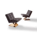 "THAYER COGGIN ""Z""-Armless Lounge Chair"