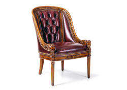 Hancock and Moore Appointment Tufted Chair 1