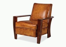 Hancock and Moore Adirondack Ribbed Belt Chair 1
