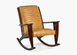 Hancock and Moore Adirondack Quilted Rocker 1
