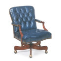 Hancock and Moore Arnold Tufted Swivel-Tilt Chair