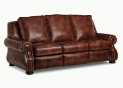 Hancock and Moore September Sofa w/ Power Recline Battery 1