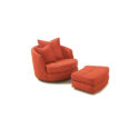 THAYER COGGIN Giant Swivel Tub Chair