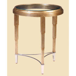 MARGE CARSON Bossa Nova Round Chairside Table 1
