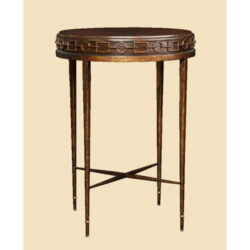 MARGE CARSON Cross Channel Chairside Table 1