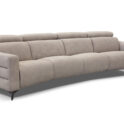 Bracci Olimpo curved sectional