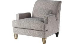 Baker Almandine Lounge Chair 1