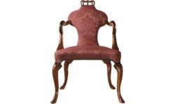 Baker Queen Anne Arm Chair 1