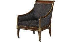 Baker Russian Regency Occasional Chair 1
