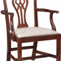 Stickley Chippendale Arm Chair