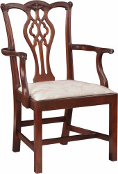 Stickley Chippendale Arm Chair 1