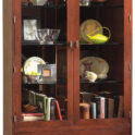 Stickley Display Cabinet with Drawer