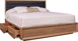 Stickley Midtown Wood Panel Bed 1