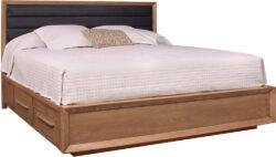 Stickley Midtown Upholstered Panel Bed 1