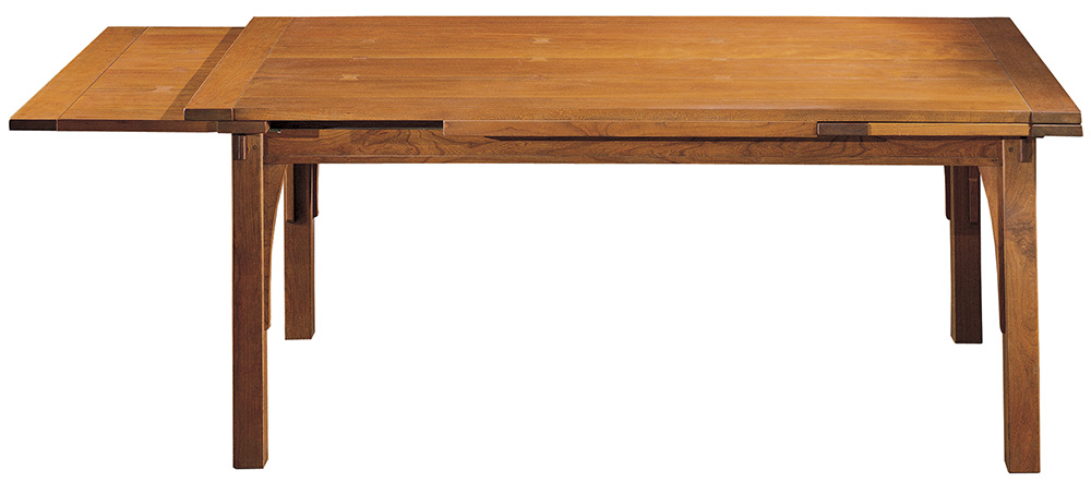 stickley dining room table | Stickley Mission Drawtop Dining Table - Flegel's Home ...