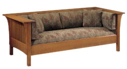 Stickley Prairie Spindle Settle 1