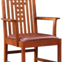 Stickley Lattice Arm Chair