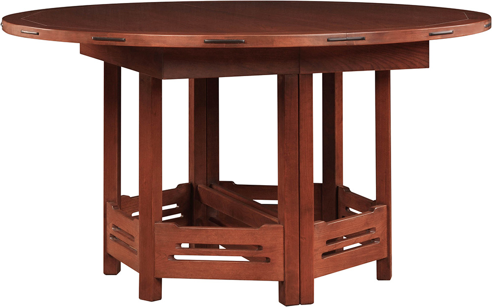 stickley dining room table | Stickley Thorsen Round Dining Table - Flegel's Home ...