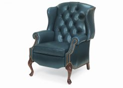 Hancock and Moore Alexander Tufted Wing Chair Power Recliner