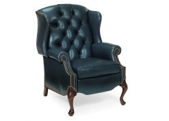 Hancock and Moore Alexander Tufted Wing Chair Recliner