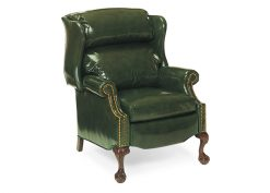 Hancock and Moore Addison Bustle Back Ball and Claw Recliner