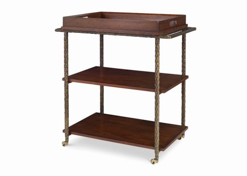 Hancock and Moore Cleve Bar Cart
