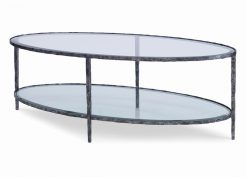 Hancock and Moore Brock Cocktail Oval Table