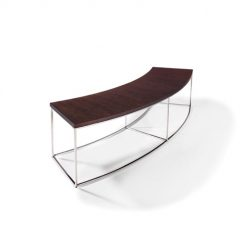 THAYER COGGIN Curved Sofa Table