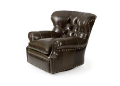 Hancock and Moore Author Swivel Chair