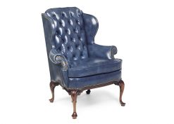 Hancock and Moore Cromwell Tufted Wing Chair