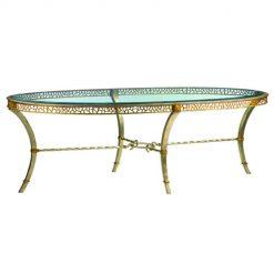 MARGE CARSON Bolero Oval Cocktail Table