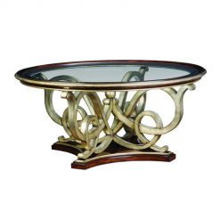 MARGE CARSON Bossa Nova Round Cocktail Table