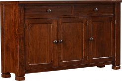 Stickley American Rustic TV Console – Flush Top