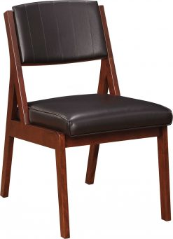 Stickley Wellfleet Uph Back Side Chair