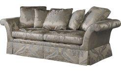 Baker George IV Skirted Sofa