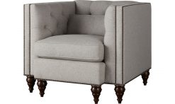 Baker Blake Tufted Lounge Chair