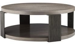 Baker Angulo Round Cocktail Table