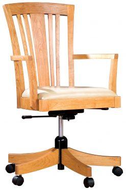 Stickley Swivel Tilt Desk Chair