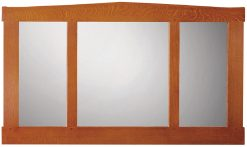 Stickley Three Glass Mirror