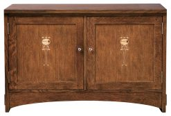Stickley 44″ Harvey Ellis TV Console
